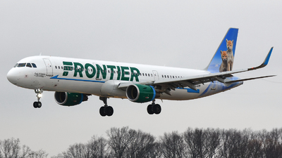 N721FR - Airbus A321-211 - Frontier Airlines