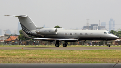 PK-TWY - Gulfstream G-IV(SP) - Private