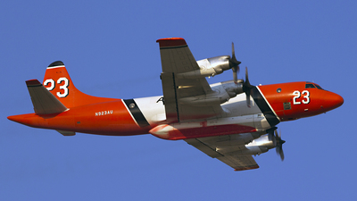 N923AU - Lockheed P-3A Orion - Airstrike Firefighters