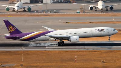 HS-TKZ - Boeing 777-3D7ER - Thai Airways International