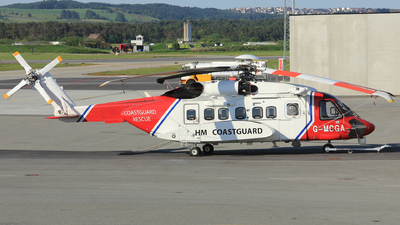 G-MCGA - Sikorsky S-92A Helibus - Bristow Helicopters
