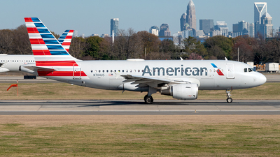 A picture of N704US - Airbus A319112 - American Airlines - © Yan777