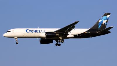 EC-FTR - Boeing 757-256(SF) - Cygnus Air