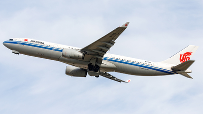 A picture of B6101 - Airbus A330343 - Air China - © James Rowson