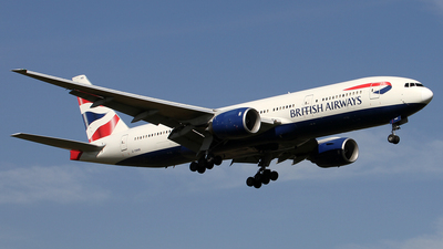 G-YMMB - Boeing 777-236(ER) - British Airways