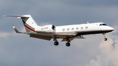 A picture of XAFAP - Gulfstream G450 - [4244] - © Santiago_MN