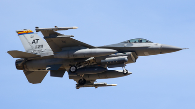 86-0211 - General Dynamics F-16C Fighting Falcon - United States - US Air Force (USAF)