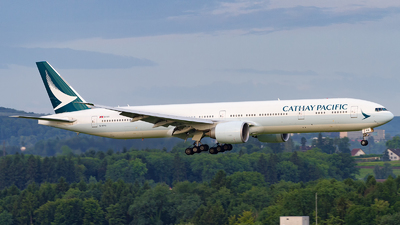 B-KPQ - Boeing 777-367ER - Cathay Pacific Airways