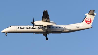 JA844C - Bombardier Dash 8-Q402 - Japan Air Commuter (JAC)