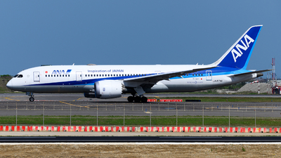 A picture of JA874A - Boeing 7878 Dreamliner - All Nippon Airways - © jasonhuang626