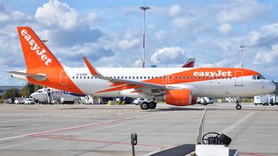 G-EZRV - Airbus A320-214 - easyJet