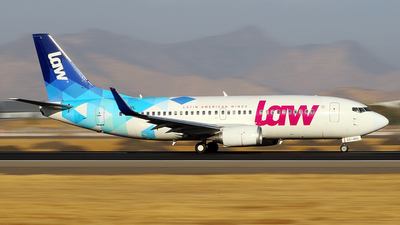CC-AVL - Boeing 737-36N - LAW - Latin American Wings