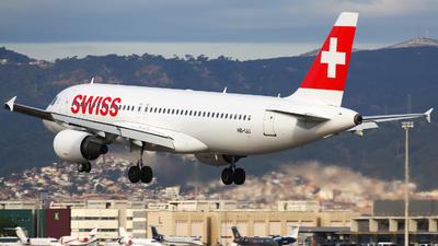 A picture of HBIJJ - Airbus A320214 - Swiss - © Rafal Pruszkowski
