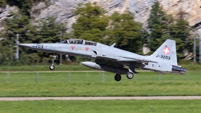 J-3203 - Northrop F-5F Tiger II - Switzerland - Air Force