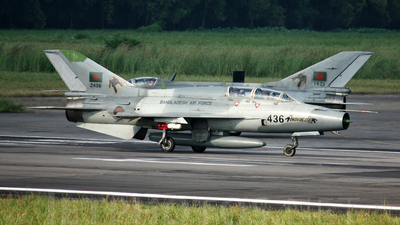 2436 - Chengdu FT-7B - Bangladesh - Air Force