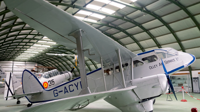 G-ACYR - De Havilland DH-89A Dragon Rapide - Olley Air Services