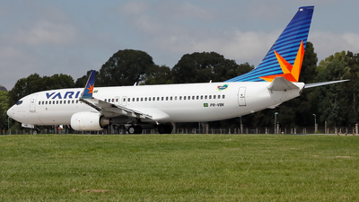 PR-VBK - Boeing 737-8EH - Varig