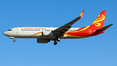 B-5482 - Boeing 737-84P - Grand China Air