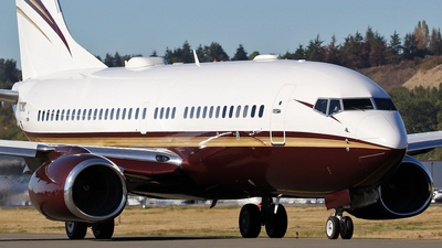 N162WC - Boeing 737-7BC(BBJ) - Private
