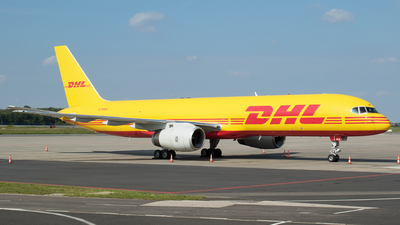 A picture of GDHKK - Boeing 75728A(PCF) - DHL - © RAFAL KUKOWSKI