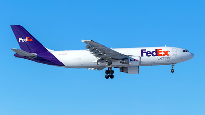 A picture of N724FD - Airbus A300B4622R(F) - FedEx - © Brian Tattuinee