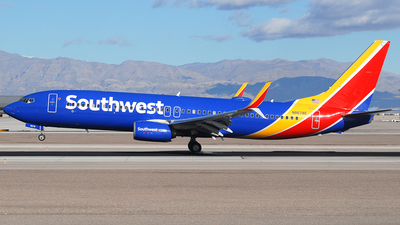 N8678E - Boeing 737-8H4 - Southwest Airlines