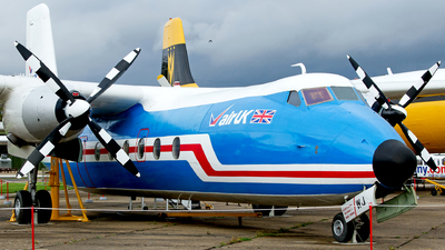 G-APWJ - Handley Page Dart Herald 201 - Air UK