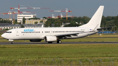 OM-GTG - Boeing 737-84P - Enter Air (Go2Sky)