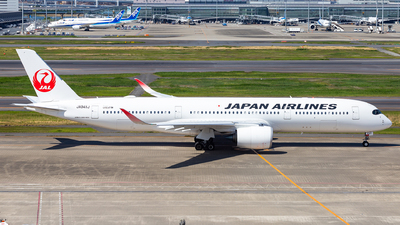 A picture of JA04XJ - Airbus A350941 - Japan Airlines - © LUSU