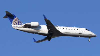 A picture of N410AW - Mitsubishi CRJ200LR - United Airlines - © DJ Reed - OPShots Photo Team