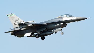 88-0460 - General Dynamics F-16CM Fighting Falcon - United States - US Air Force (USAF)