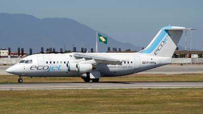 A picture of CP2889 - Avro RJ85 - EcoJet - © Leonardo Mello