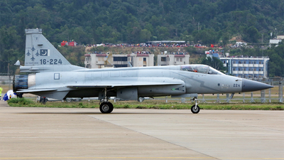 16-224 - Chengdu JF-17 Thunder - Pakistan - Air Force