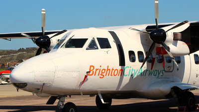 OK-ASA - Let L-410UVP-E Turbolet - Brighton City Airways (Citywing)