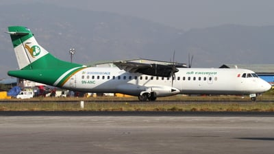 A picture of 9NANC - ATR 72500 - Yeti Airlines - © Robin Frosch
