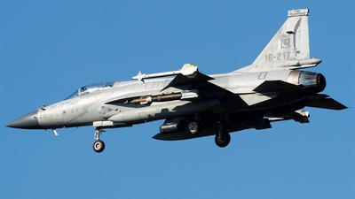 16-217 - Chengdu JF-17 Thunder - Pakistan - Air Force