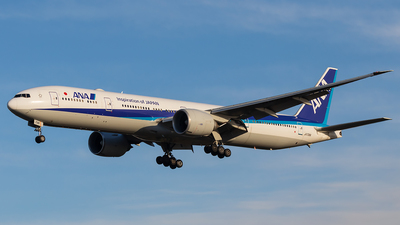 A picture of JA736A - Boeing 777381(ER) - All Nippon Airways - © walker2000