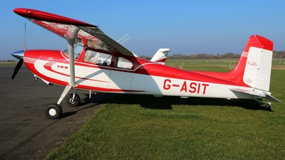 A picture of GASIT - Cessna 180 - [32567] - © David Cook