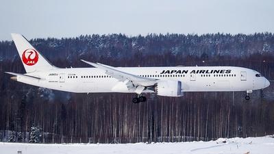 A picture of JA863J - Boeing 7879 Dreamliner - Japan Airlines - © Owen Yue Yijia