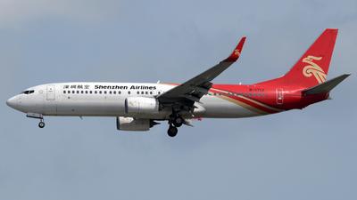 B-1712 - Boeing 737-87L - Shenzhen Airlines