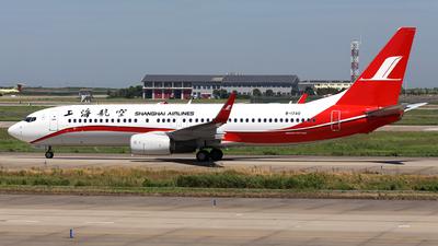 B-1740 - Boeing 737-86D - Shanghai Airlines