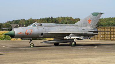 47 - Mikoyan-Gurevich MiG-21PFM Fishbed - Soviet Union - Air Force