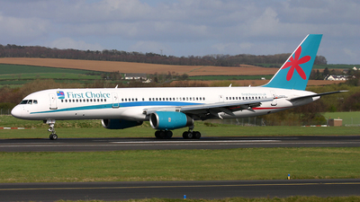 G-OOBD - Boeing 757-28A - First Choice Airways