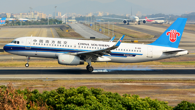 B-1801 - Airbus A320-232 - China Southern Airlines