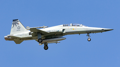 5408 - Northrop F-5F Tiger II - Taiwan - Air Force