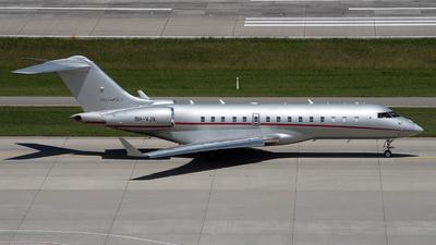 A picture of 9HVJX - Bombardier Global 6000 - VistaJet - © Kurt Kolb