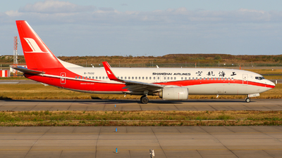 A picture of B7632 - Boeing 73789P - Shanghai Airlines - © TasKforce404-HK416