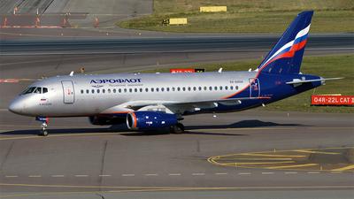 RA-89108 - Sukhoi Superjet 100-95B - Aeroflot