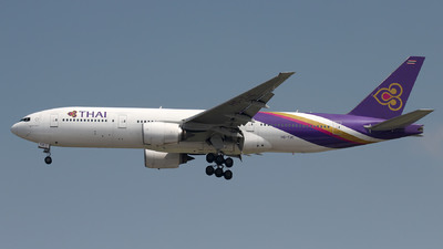 HS-TJC - Boeing 777-2D7 - Thai Airways International