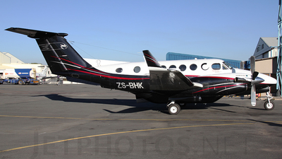 ZS-BHK - Beechcraft B200 Super King Air - Private